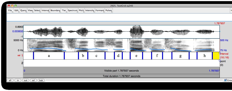 Praat x64 screenshot